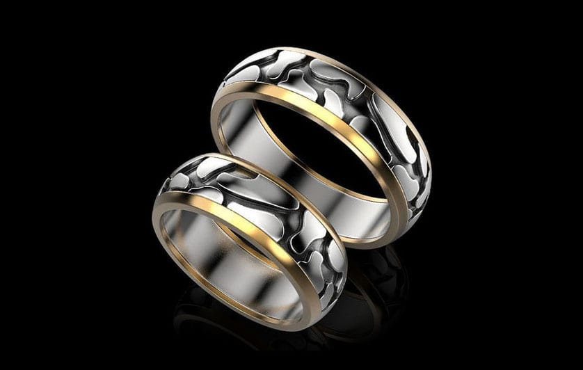 bespoke mens wedding rings